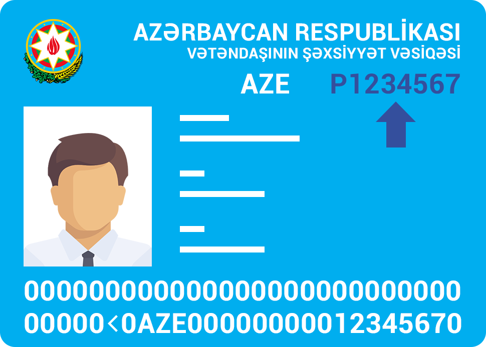 passport number image